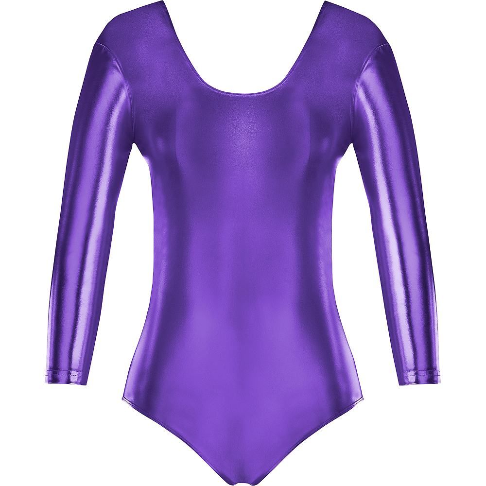 Womens Purple Bodysuit Image #2