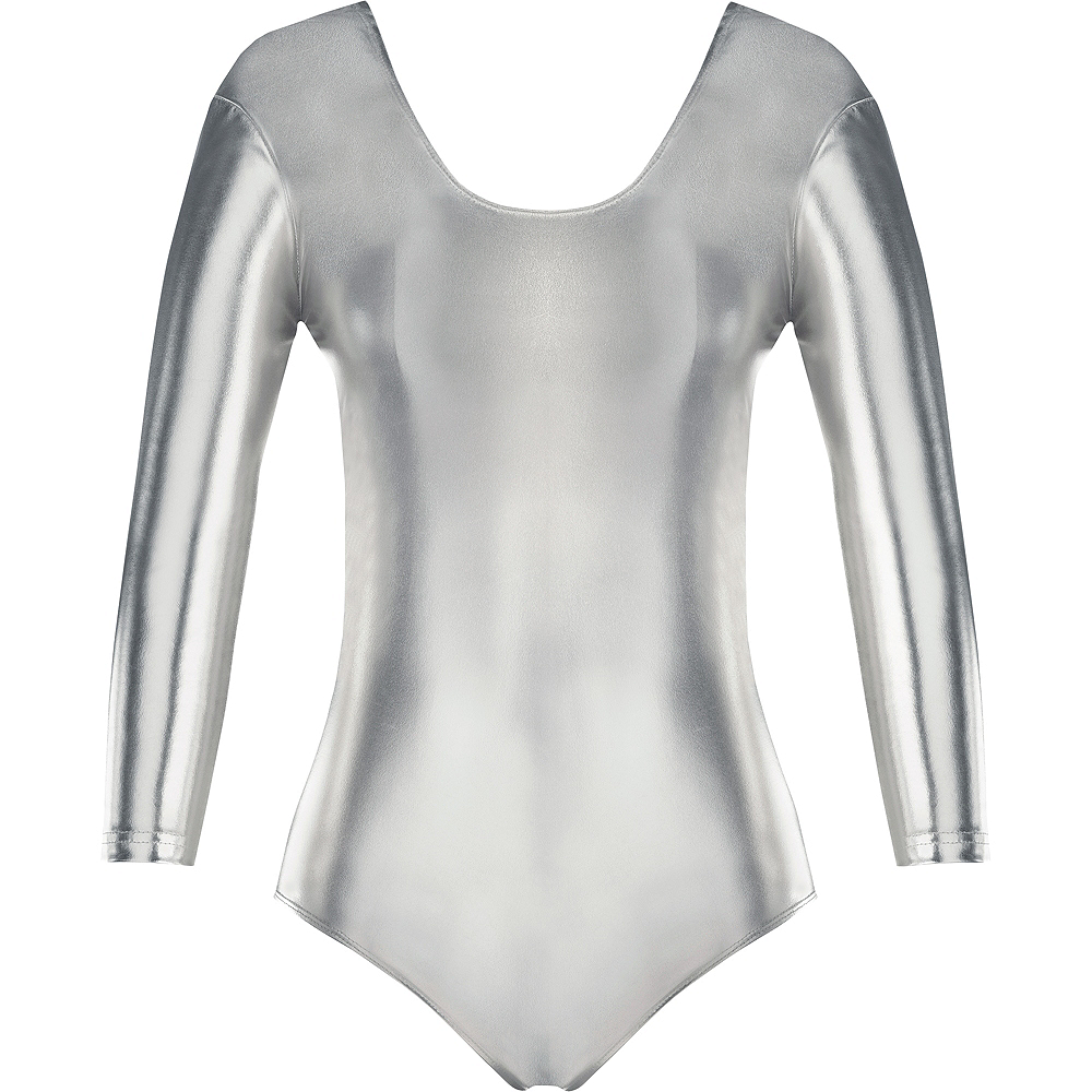 Nav Item for Womens Silver Bodysuit Image #2