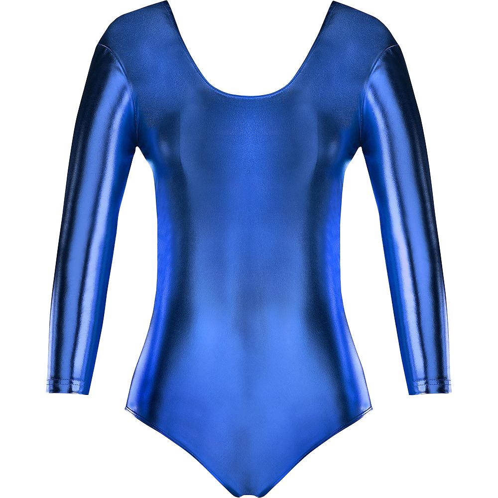 Womens Blue Bodysuit Image #2