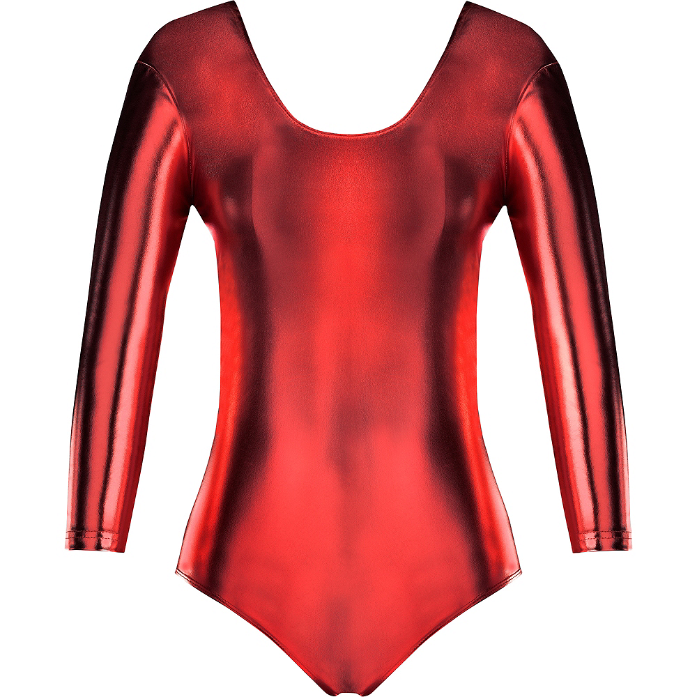 Womens Red Bodysuit Image #2