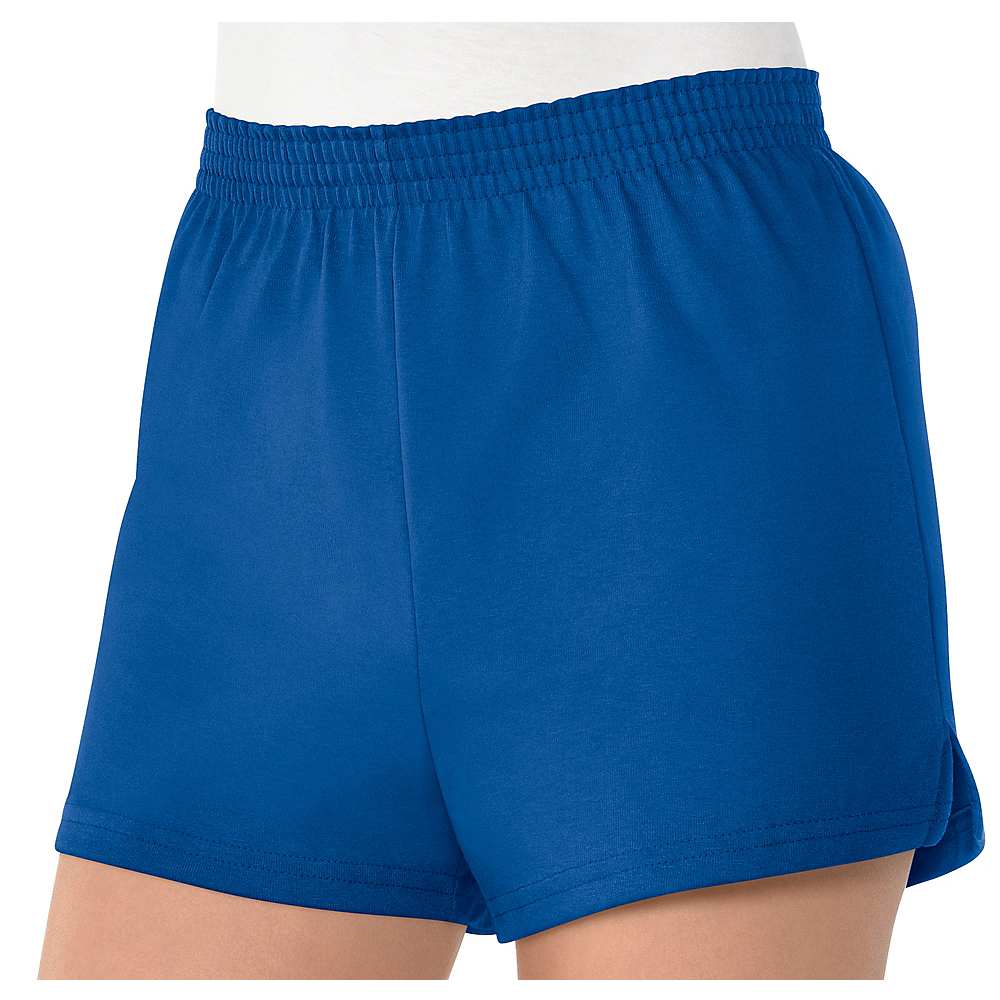Womens Blue Sport Shorts Image #1