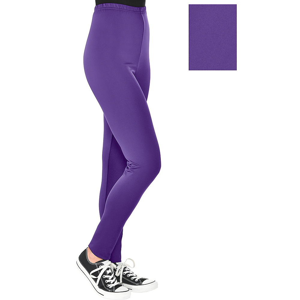 Nav Item for Womens Purple Leggings Image #1