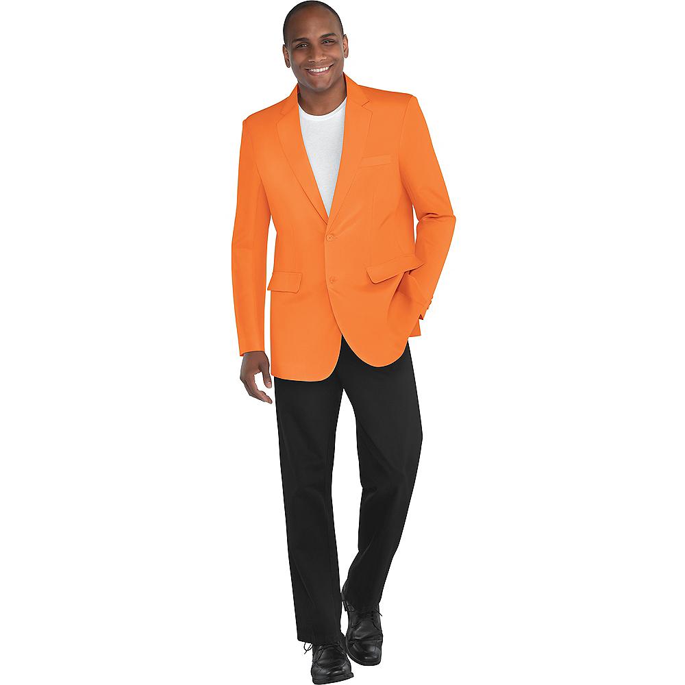 Adult Orange Jacket Image #1