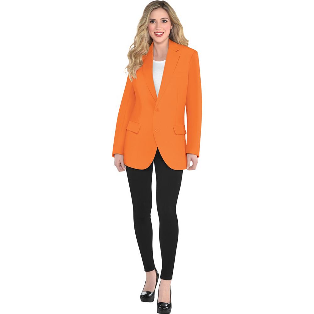 Adult Orange Jacket Image #2