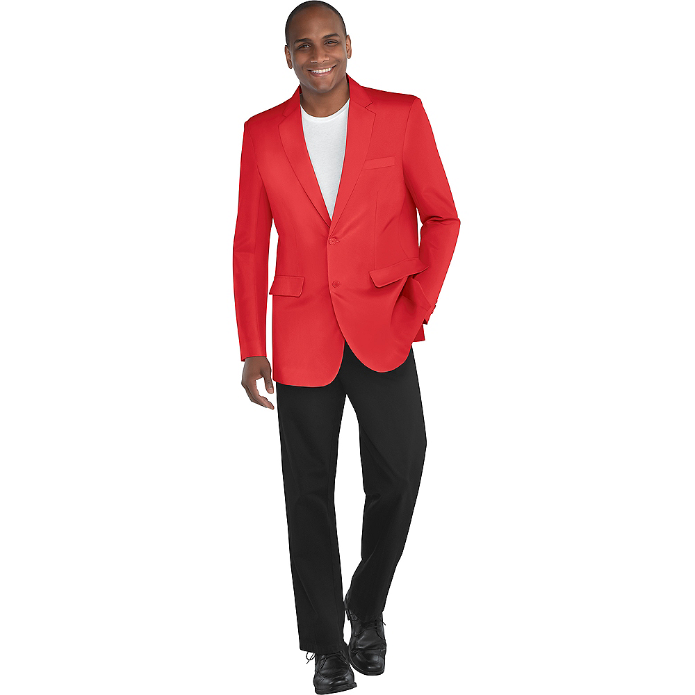 Adult Red Jacket Image #1