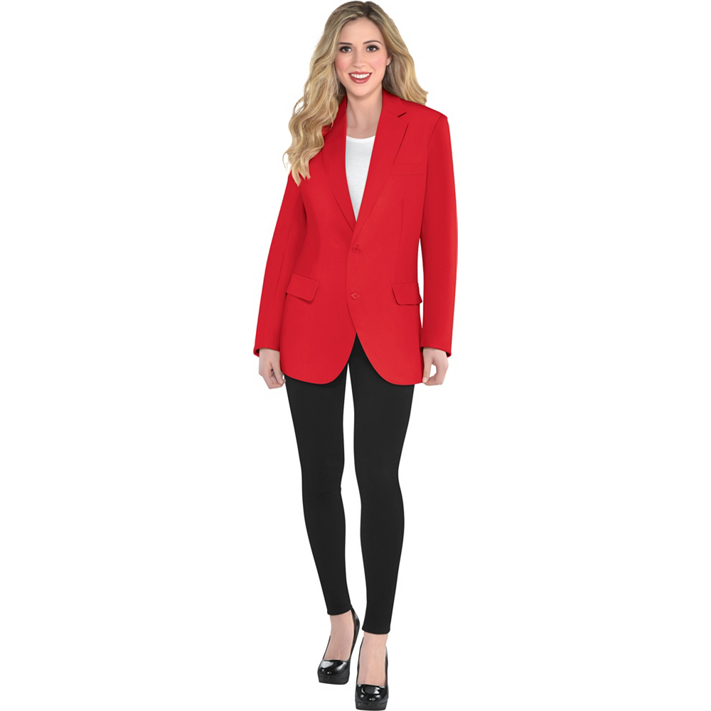 Adult Red Jacket Image #2