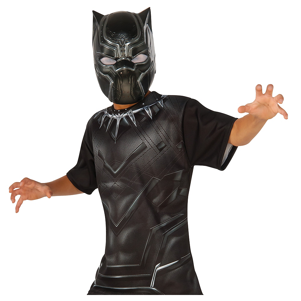 Boys Black Panther Costume Accessory Kit Image #1