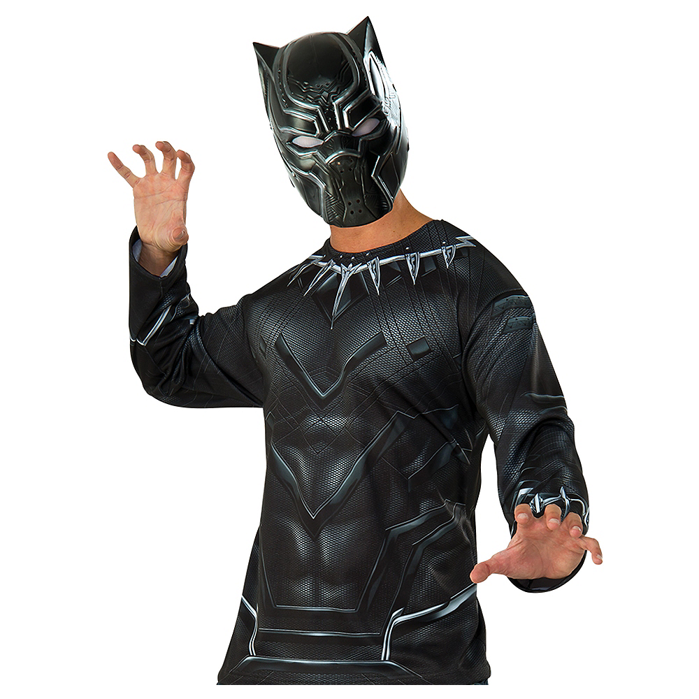 Adult Black Panther Costume Accessory Kit Image #1