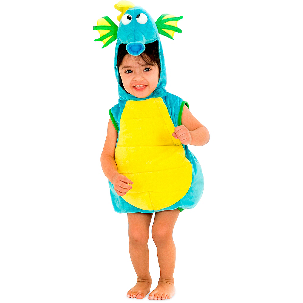 Baby Blue Seahorse Costume Image #1