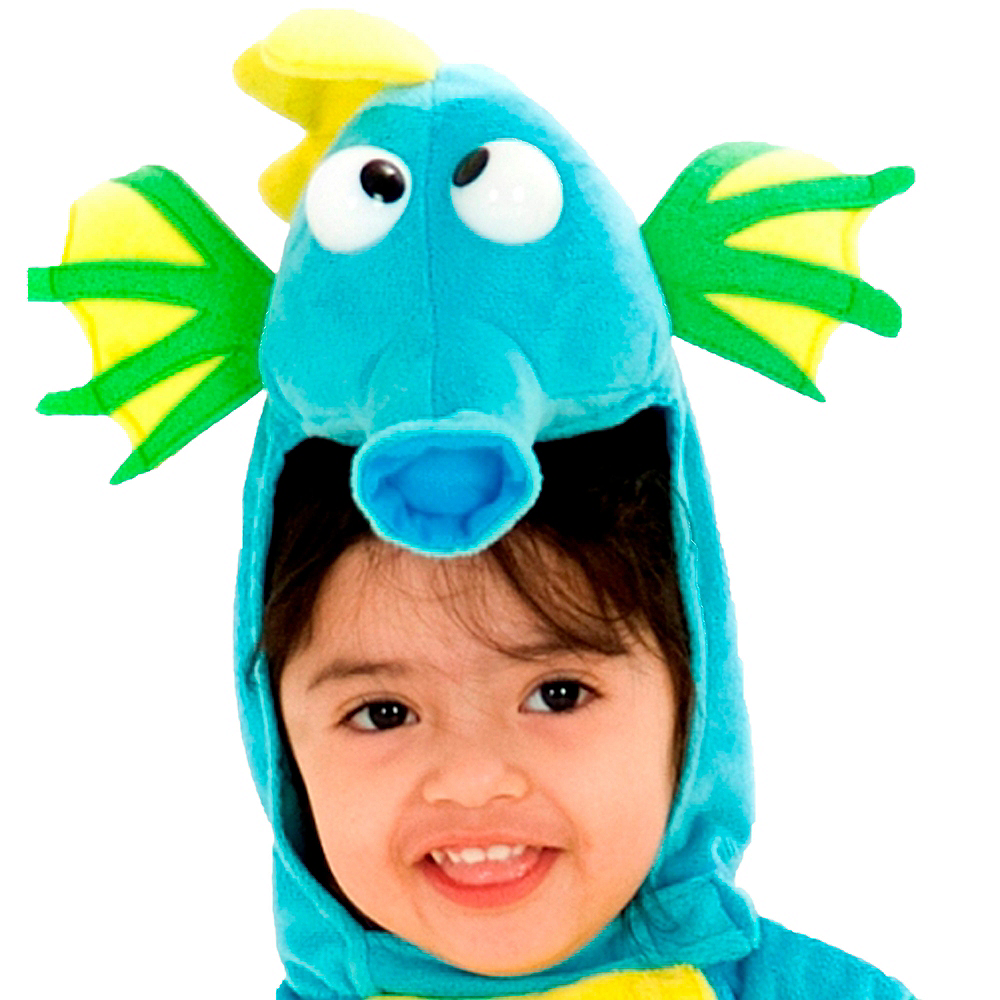 Baby Blue Seahorse Costume Image #2