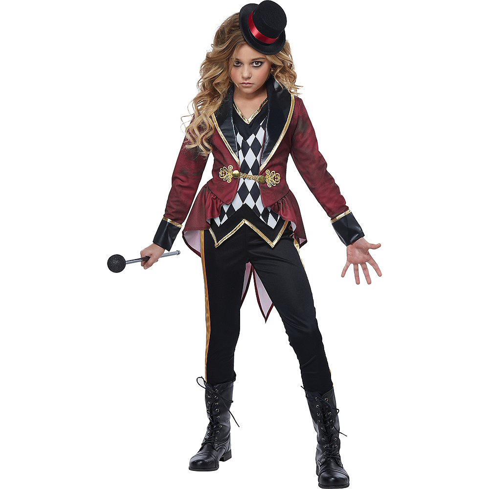 Nav Item for Girls Ringmaster Costume Image #1