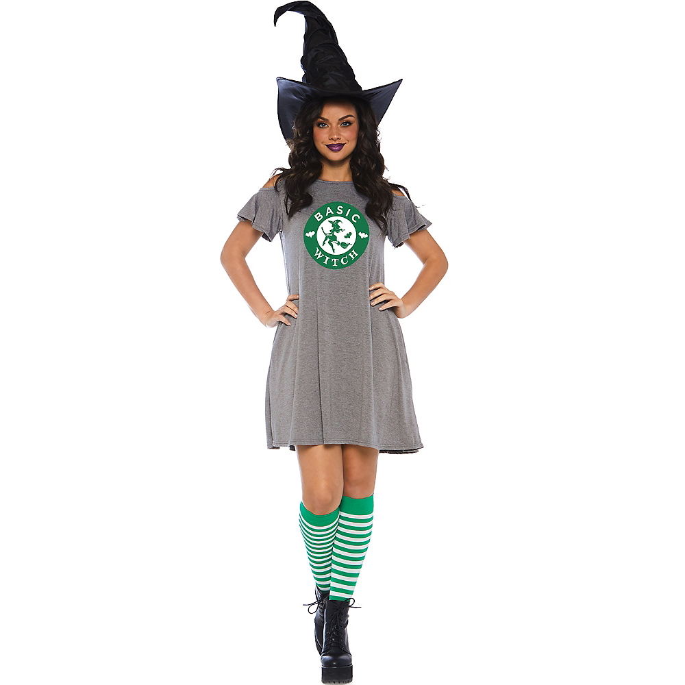 Womens Basic Witch Dress Image #1