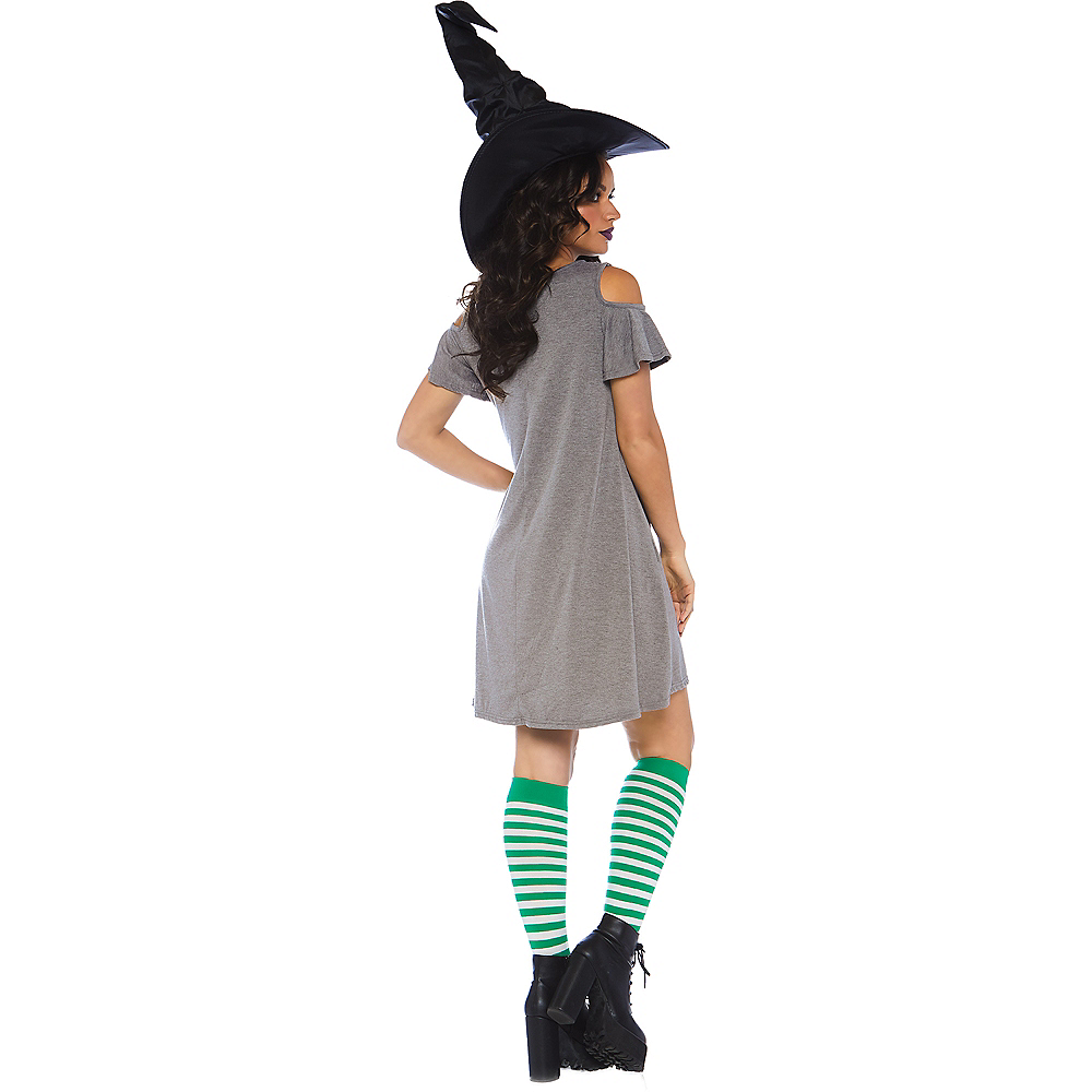 Womens Basic Witch Dress Image #2