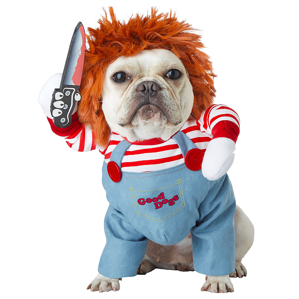 Deadly Doll Dog Costume Image #1