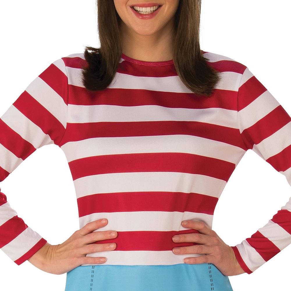 Womens Where's Wenda Costume - Where's Waldo Image #3