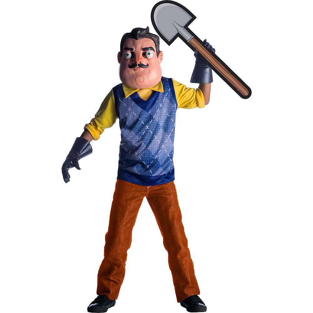 Nav Item for Boys Hello Neighbor Costume Image #1
