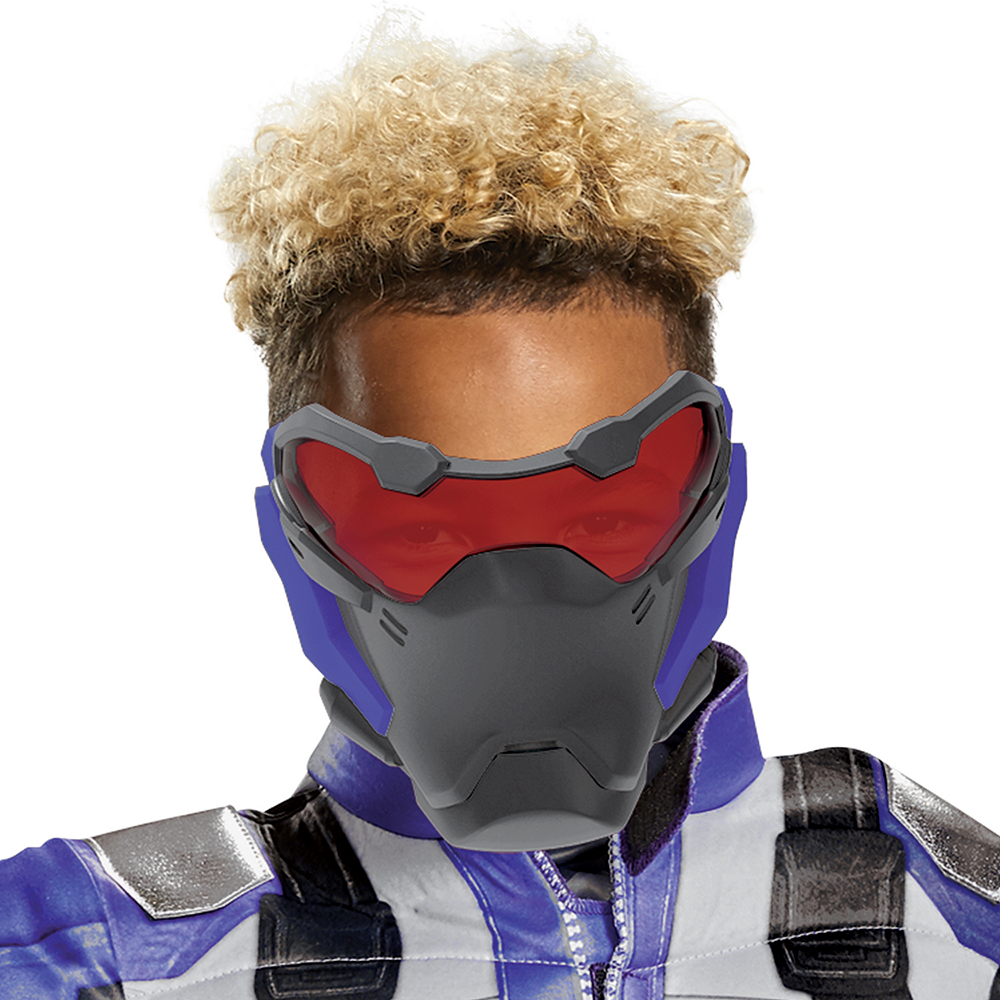 Boys Soldier: 76 Classic Muscle Costume - Overwatch Image #2