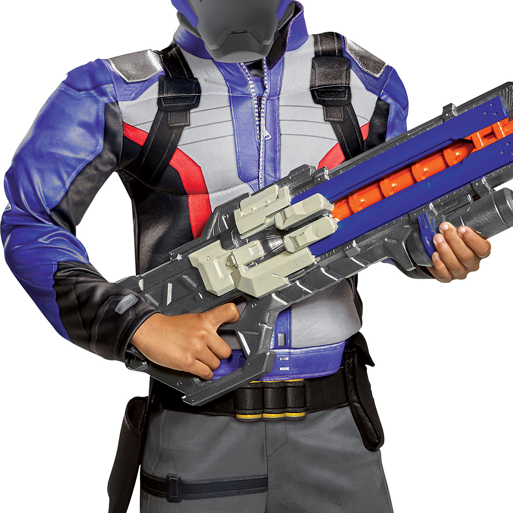 Boys Soldier: 76 Classic Muscle Costume - Overwatch Image #3