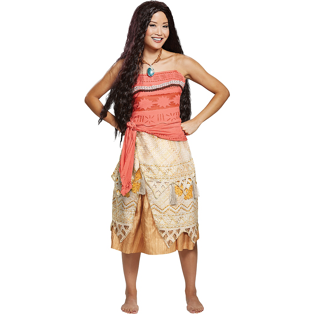 Nav Item for Womens Moana Costume Deluxe Image #1