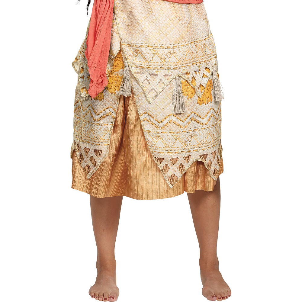 Nav Item for Womens Moana Costume Deluxe Image #3