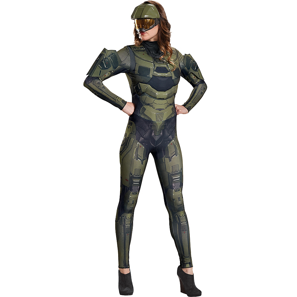 Nav Item for Womens Master Chief Costume - Halo Image #1