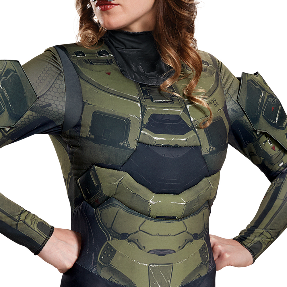 Nav Item for Womens Master Chief Costume - Halo Image #3