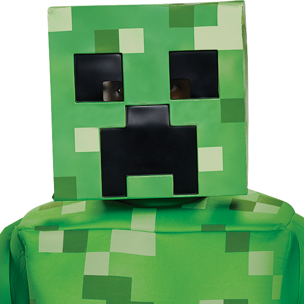 Mens Creeper Prestige Costume - Minecraft Image #2