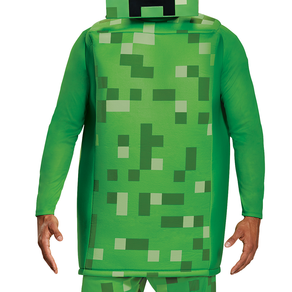 Mens Creeper Prestige Costume - Minecraft Image #3