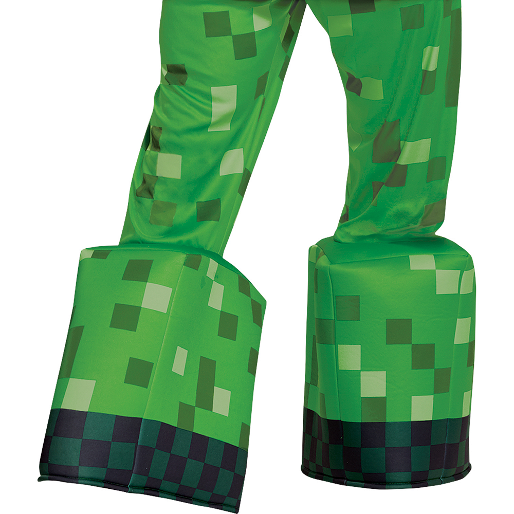 Mens Creeper Prestige Costume - Minecraft Image #4