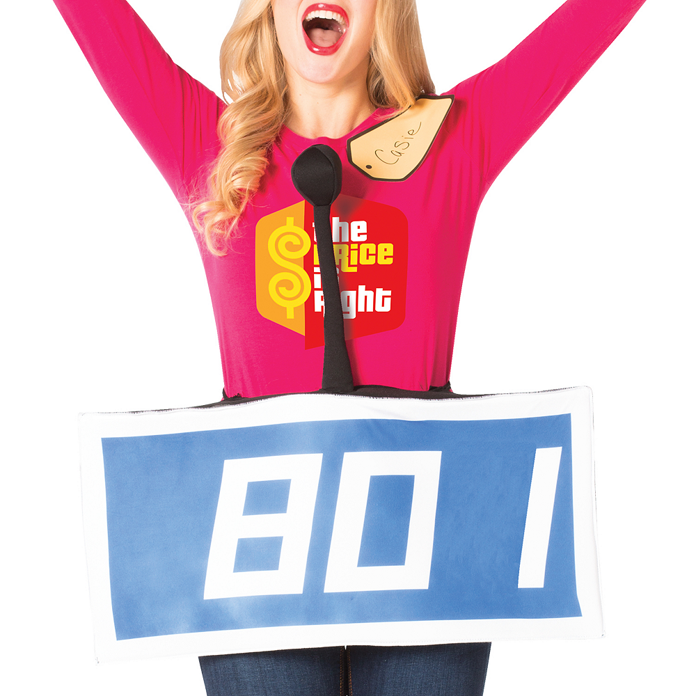 Adult Blue The Price Is Right Contestant Costume Image #2