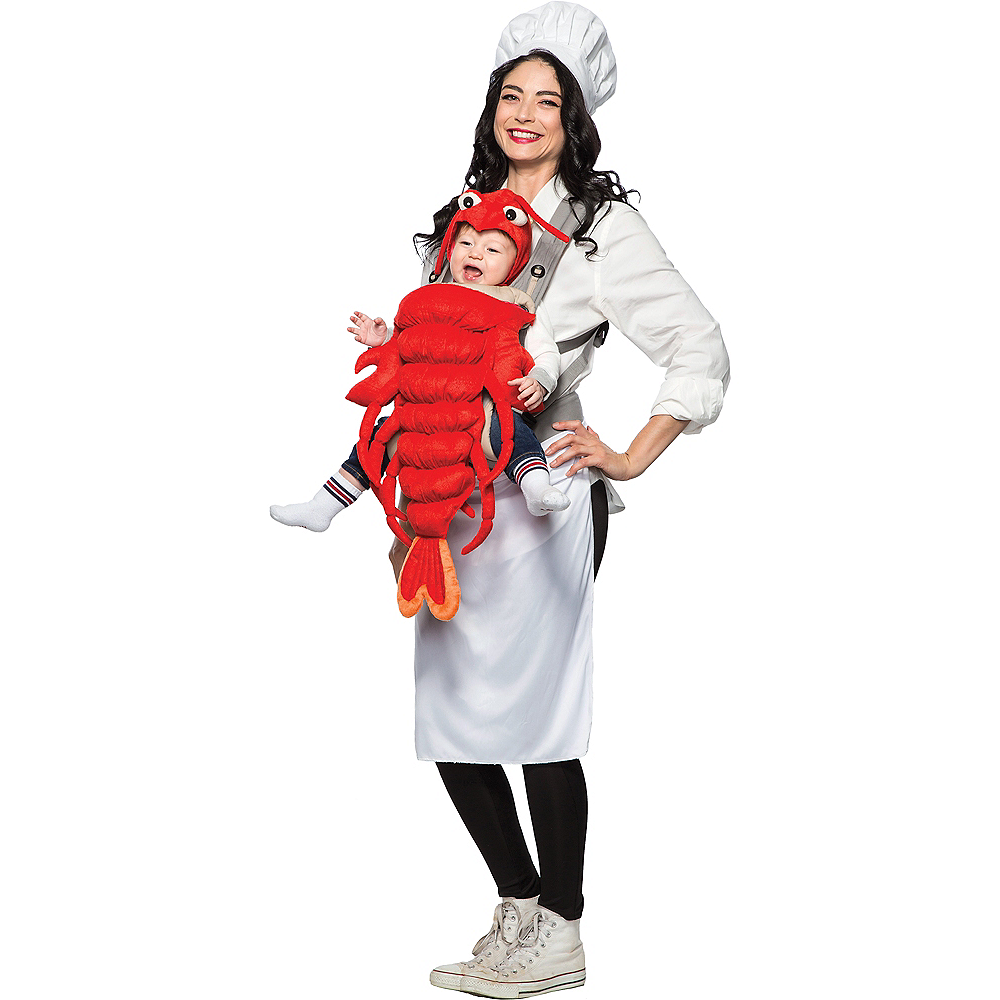 Chef & Lobster Mom & Baby Costume Image #1