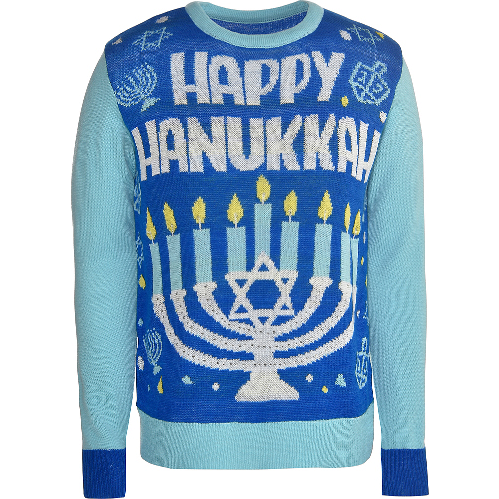 Happy Hanukkah Ugly Hanukkah Sweater Image #1