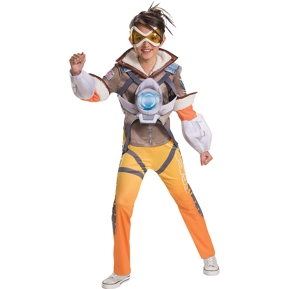 Girls Tracer Costume Overwatch Party City