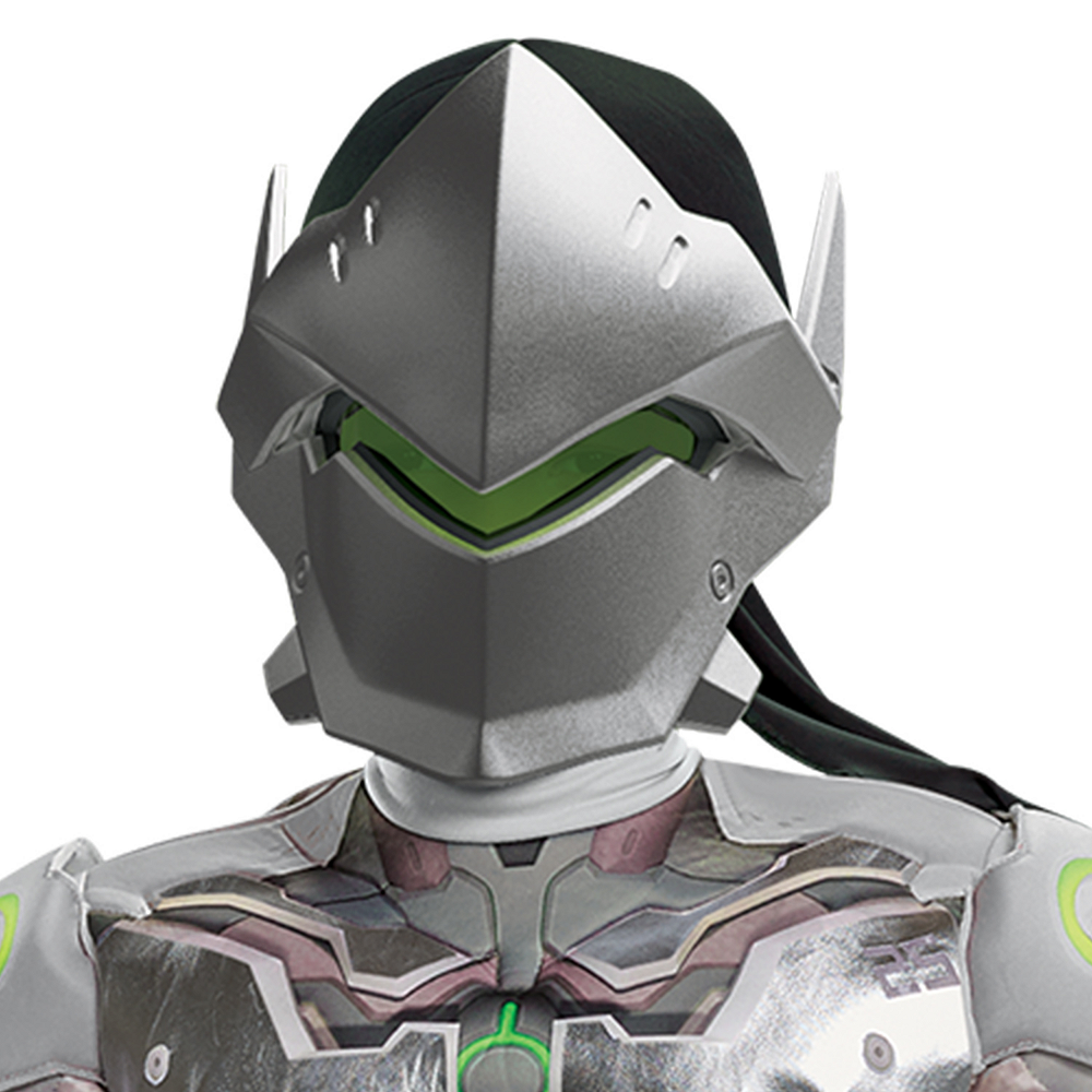 Nav Item for Boys Genji Muscle Costume - Overwatch Image #2