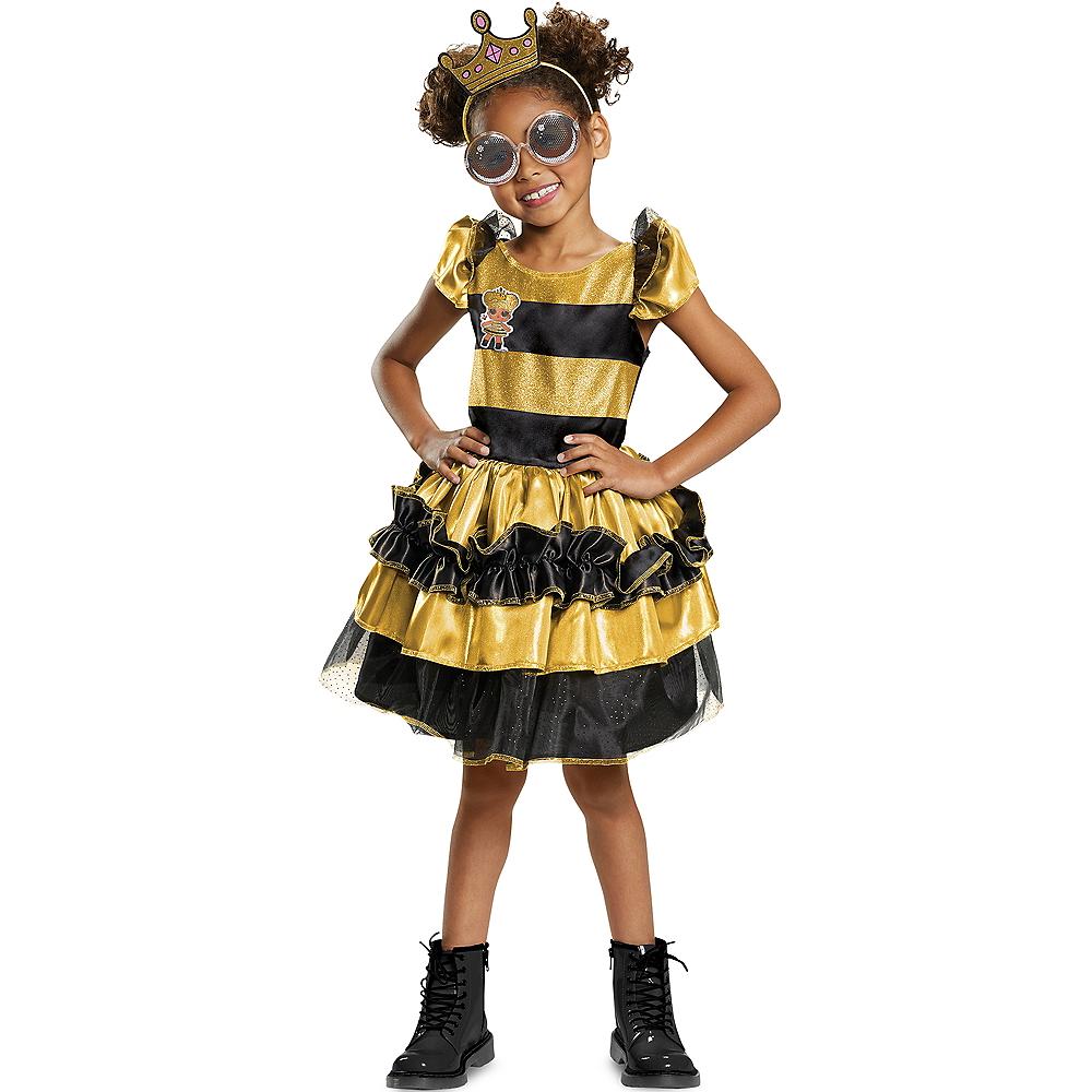 de0ecd6671745 Girls Queen Bee Costume Deluxe - L.O.L. Surprise