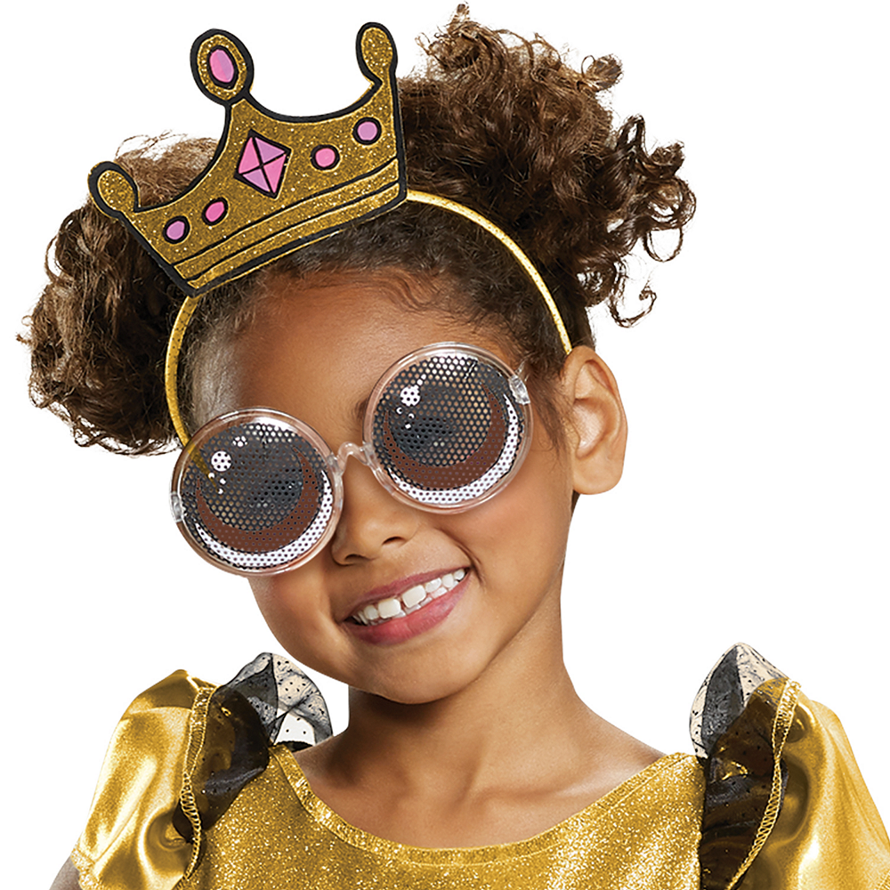 Girls Queen Bee Costume Deluxe - L.O.L. Surprise Image #2