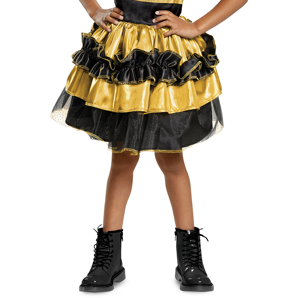 Girls Queen Bee Costume Deluxe - L.O.L. Surprise Image #4