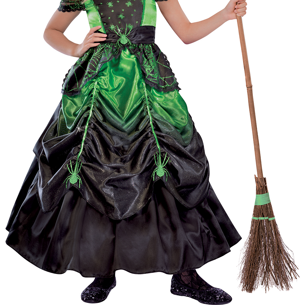 Girls Gothic Witch Costume Image #4