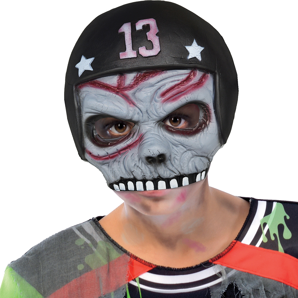 Boys Zombie Football Player Costume Image #2