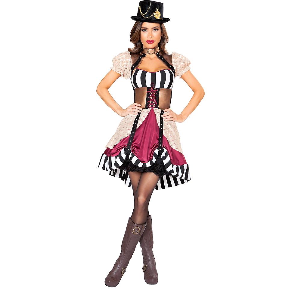 Womens Sassy Steampunk Costume Image #1