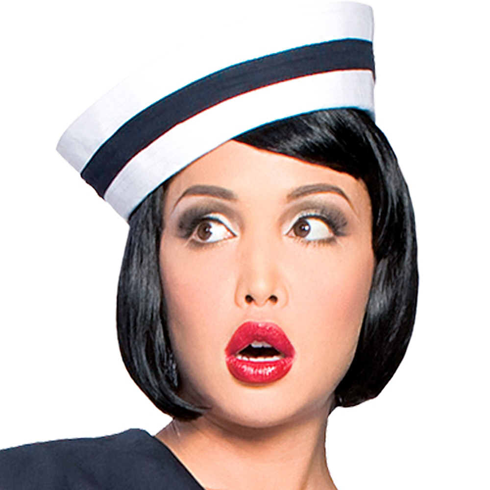 Womens Pin-Up Captain Sailor Costume Image #3