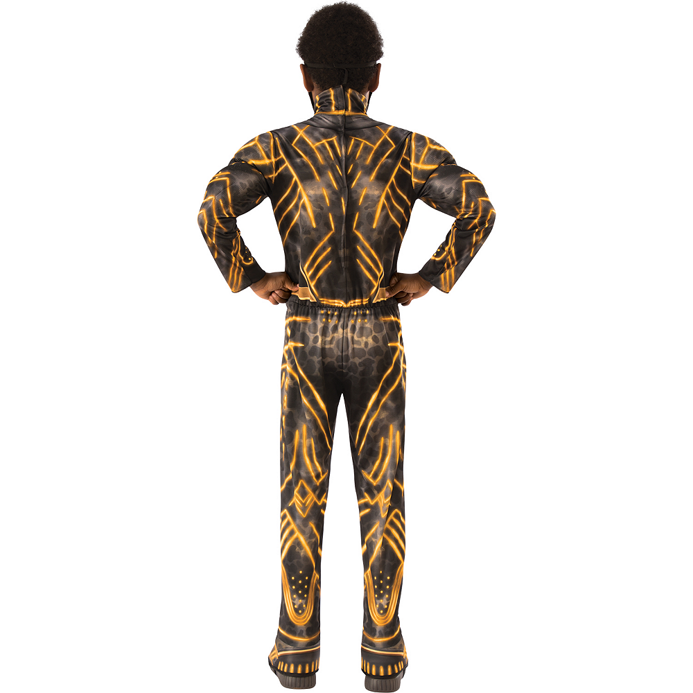 Nav Item for Boys Erik Killmonger Muscle Costume - Black Panther Image #2