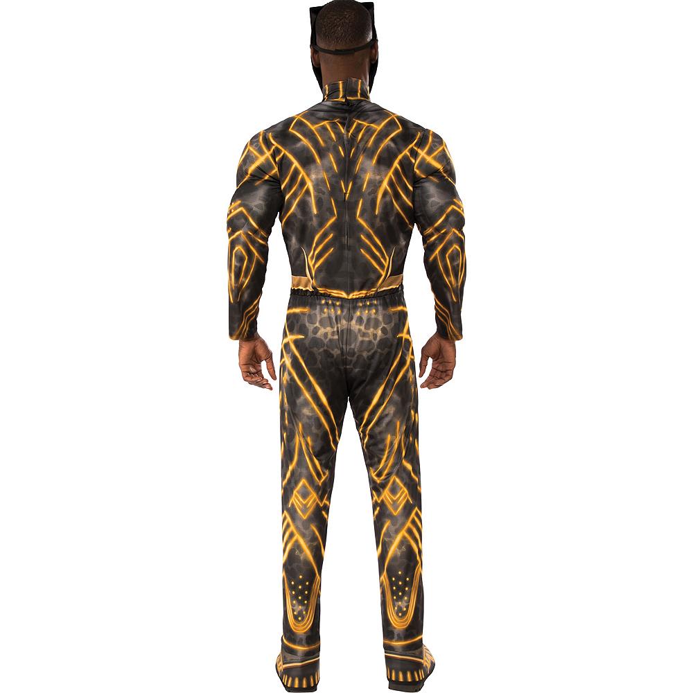 Mens Erik Killmonger Muscle Costume - Black Panther Image #2
