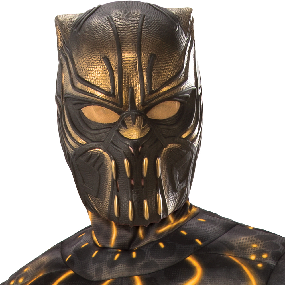 Mens Erik Killmonger Muscle Costume - Black Panther Image #3