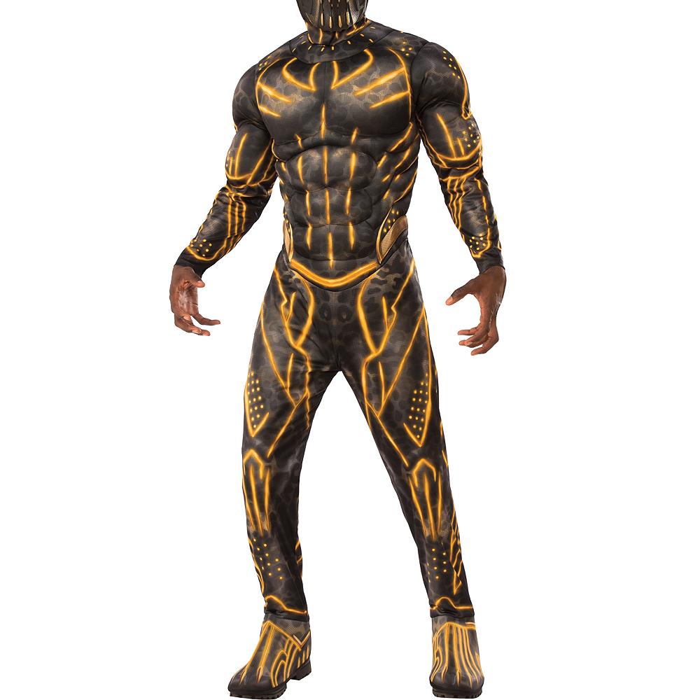 Mens Erik Killmonger Muscle Costume - Black Panther Image #4