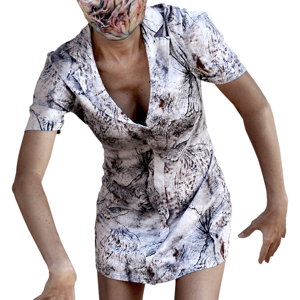 Womens Faceless Nurse Costume - Silent Hill Image #3