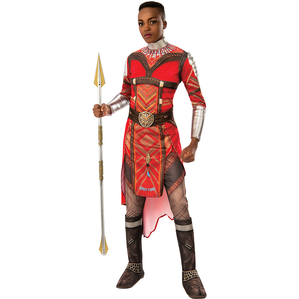 Nav Item for Womens Wakanda's Dora Milaje Costume - Black Panther Image #2