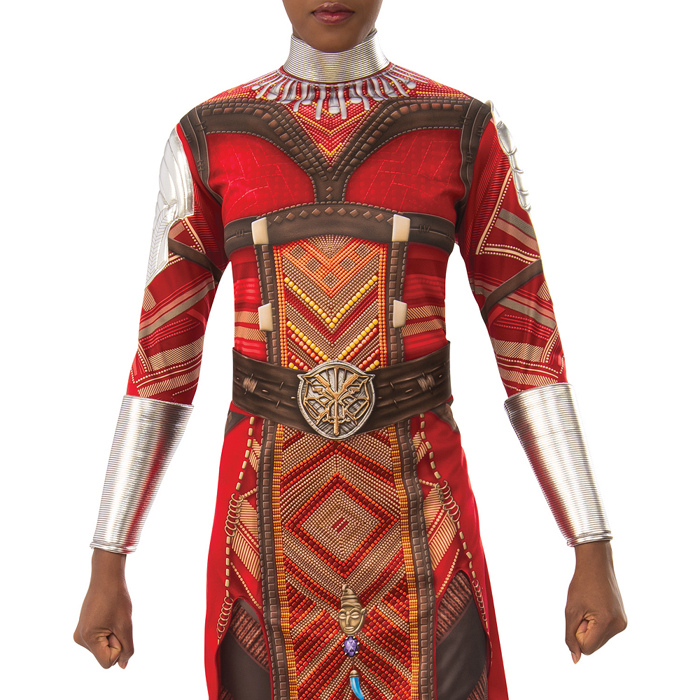 Nav Item for Womens Wakanda's Dora Milaje Costume - Black Panther Image #3
