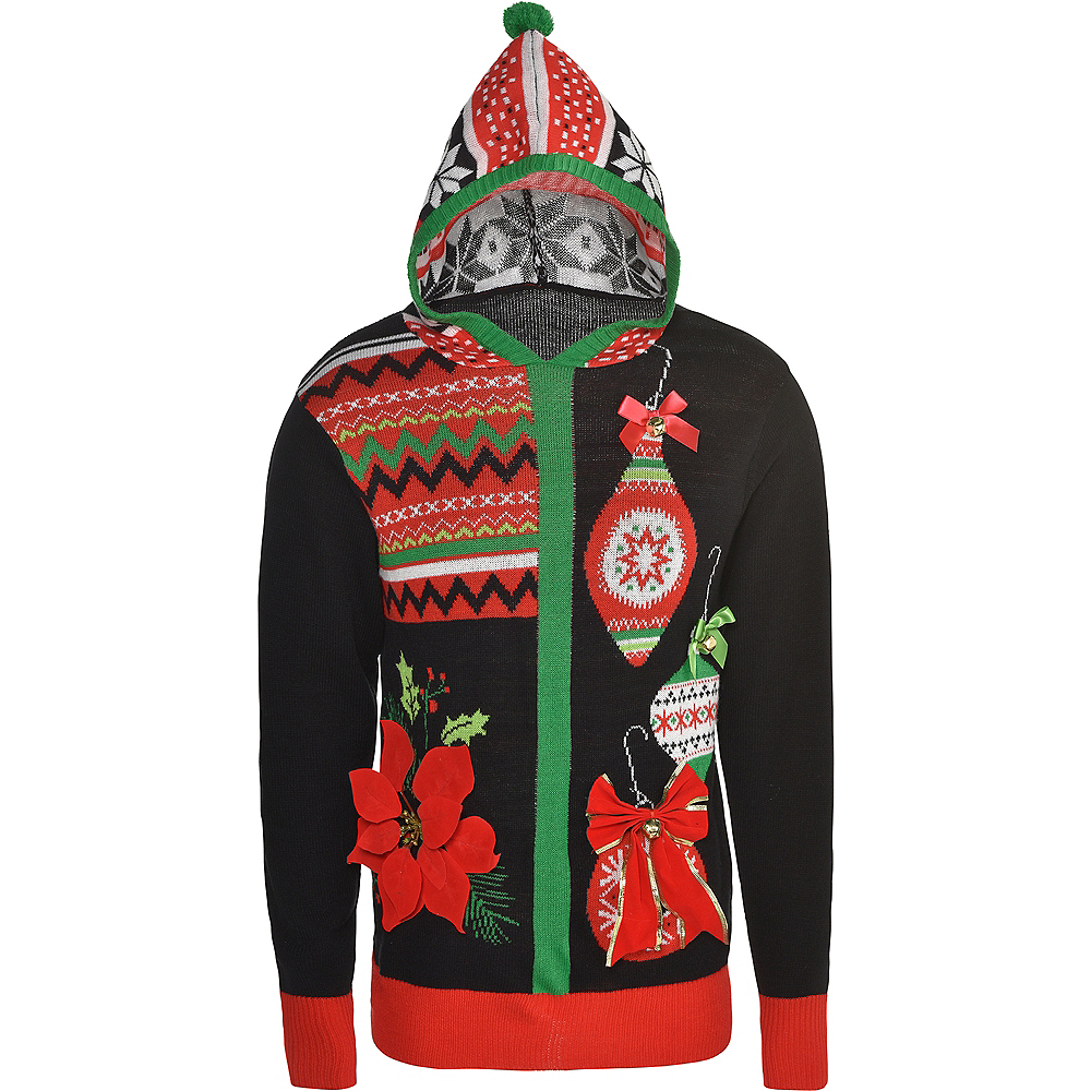Nav Item for Ugly Christmas Sweater Hoodie Image #1