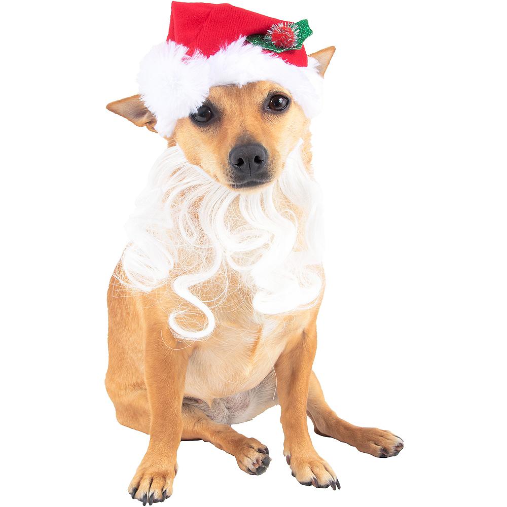 Santa Beard Dog Hat Image #1